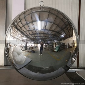 1200mm mirror polished large stainless sphere