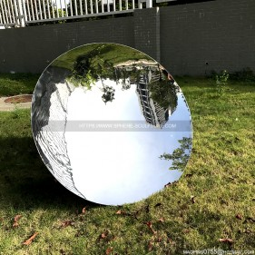 1000mm stainless steel disc mirror