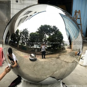 1400mm mirror polished large stainless steel sphere