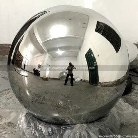 90Cm aisi316L mirror polished stainless steel hollow sphere