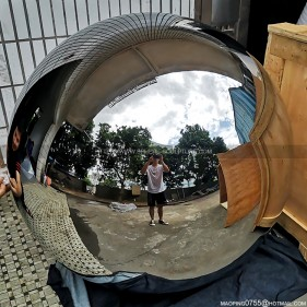 1100mm mirror polished large stainless steel hollow sphere