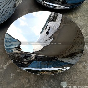 1200mm mirror stainless steel concave disc