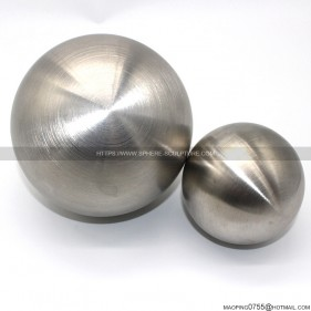 brushed stainless steel ball