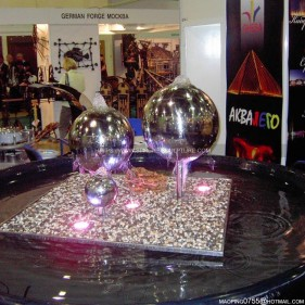 Stainless Steel Sphere water features
