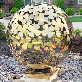 Garden Lawn Decorative Metal Sphere