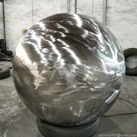 Stainless steel rough surface spheres