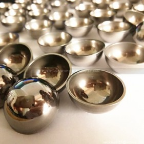 Polished stainless steel metal hemisphere suppliers