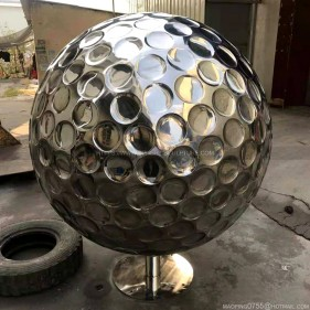Stainless Steel Golf Ball
