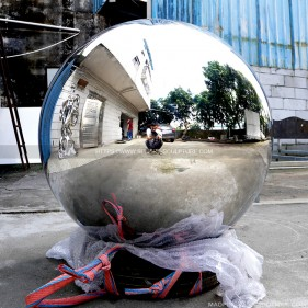 1000mm Large Decorative Steel Balls stainless steel sphere