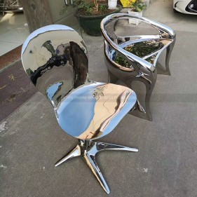 Metal Furniture Stainless Steel Chair