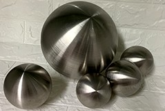 Quotes of Brush stainless steel hollow sphere from UK