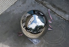Quotes of large stainless steel sphere from Netherlands
