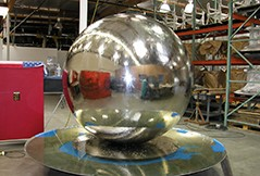 Stainless Steel Sphere Water Features – Choose Exclusive Range Online