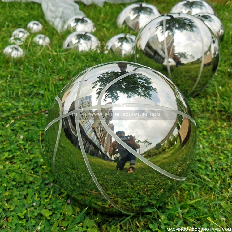 Stainless steel metal basketball