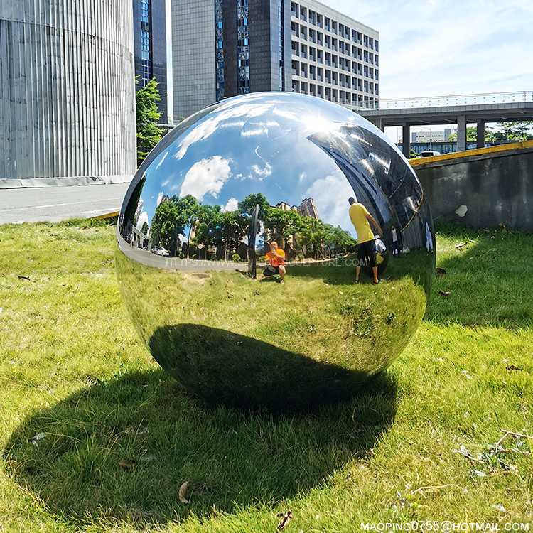 1000mm gazing balls for gardens 40 inch polished steel sphere