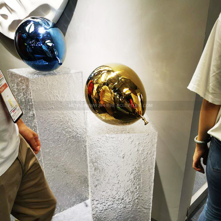 Stainless Steel Metal Color Balloon Sculpture Art